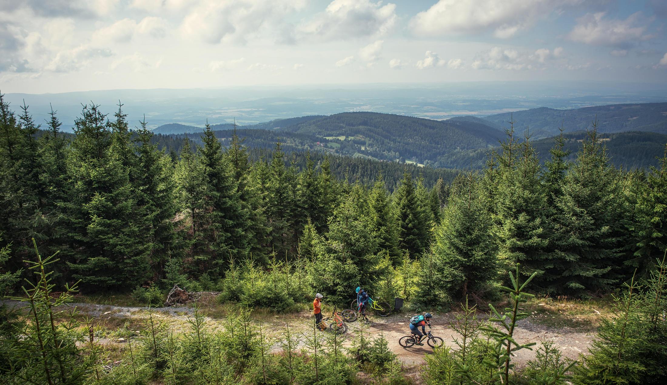 Sachsen Sax Tracks Erzgebirge MTB Mountainbiken Roadtrip Home